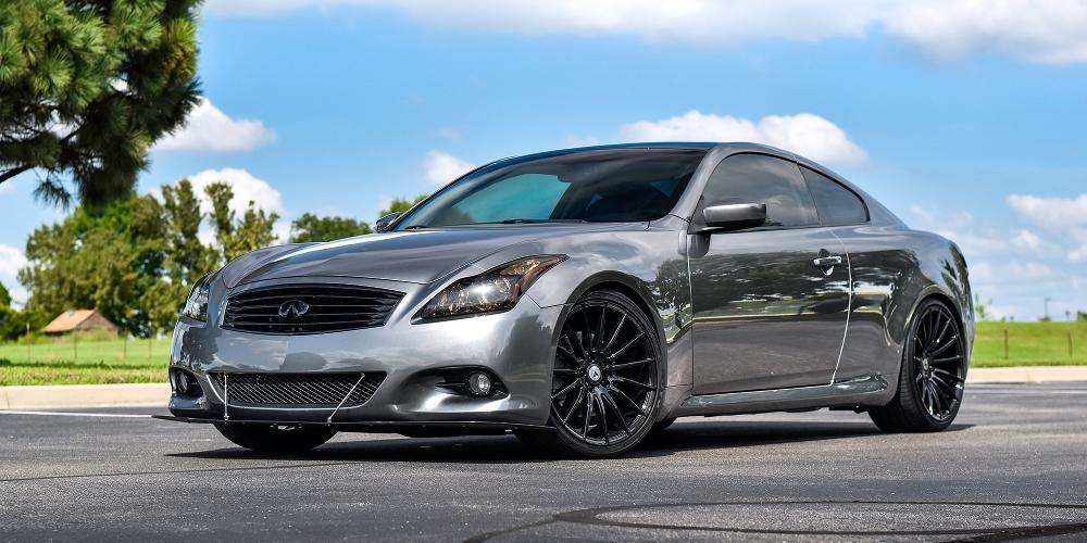 Infiniti G37 with ABL-14 Polaris