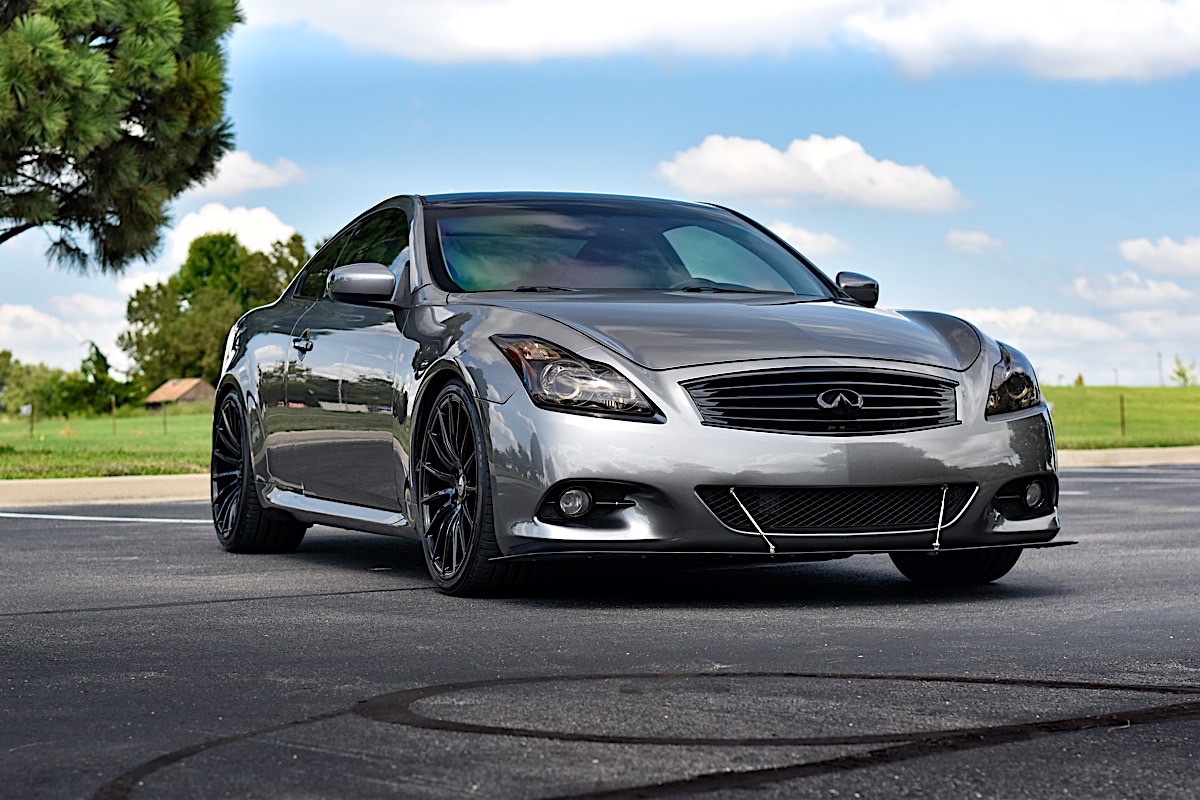 Infiniti G37 with Asanti Black Label ABL-14 Polaris