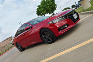 Honda Accord with TSW Ascent