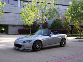 Honda S2000 with TSW Nurburgring