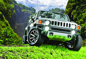 Hummer H3 with Tuff A.T. Wheels T-05