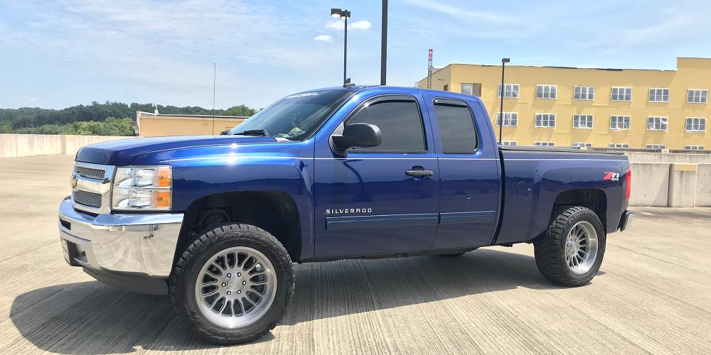 Chevrolet Silverado 1500 with AB815 Workhorse