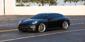 Porsche Panamera with Rotiform DUS