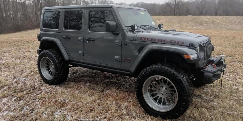 Jeep Wrangler with AB815 Workhorse