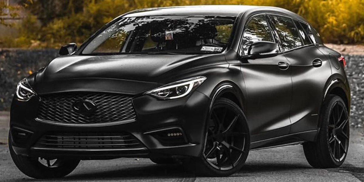 Infiniti QX30 with Verde Wheels V99 Axis