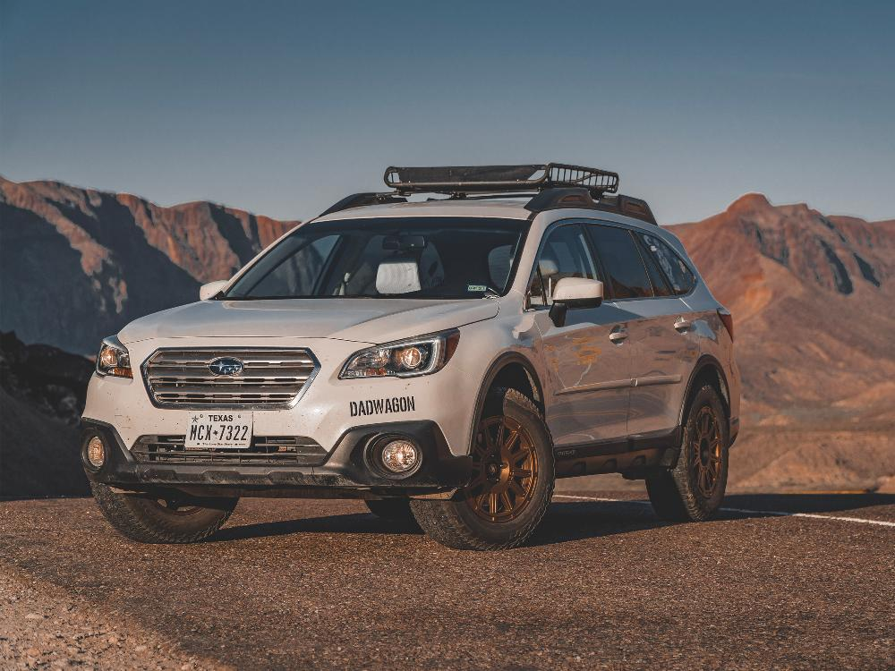 Subaru Outback Icon Alloys Ricochet