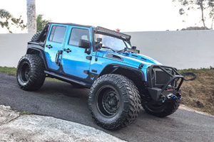 Jeep Wrangler with Black Rhino Armory