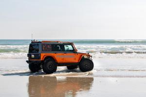 Jeep Wrangler with Black Rhino Armory