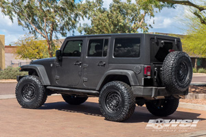 Jeep Wrangler with Black Rhino Arsenal