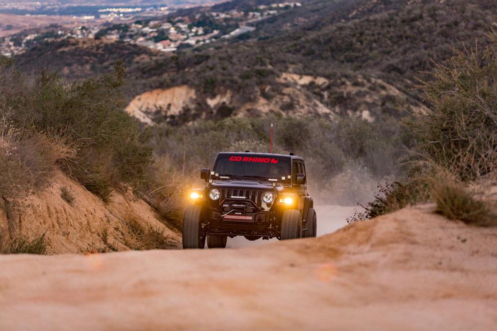 Jeep Wrangler with Black Rhino Barstow