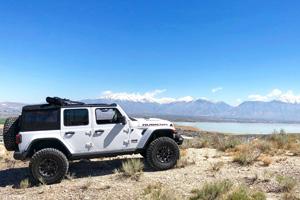 Jeep Wrangler with Black Rhino Highland