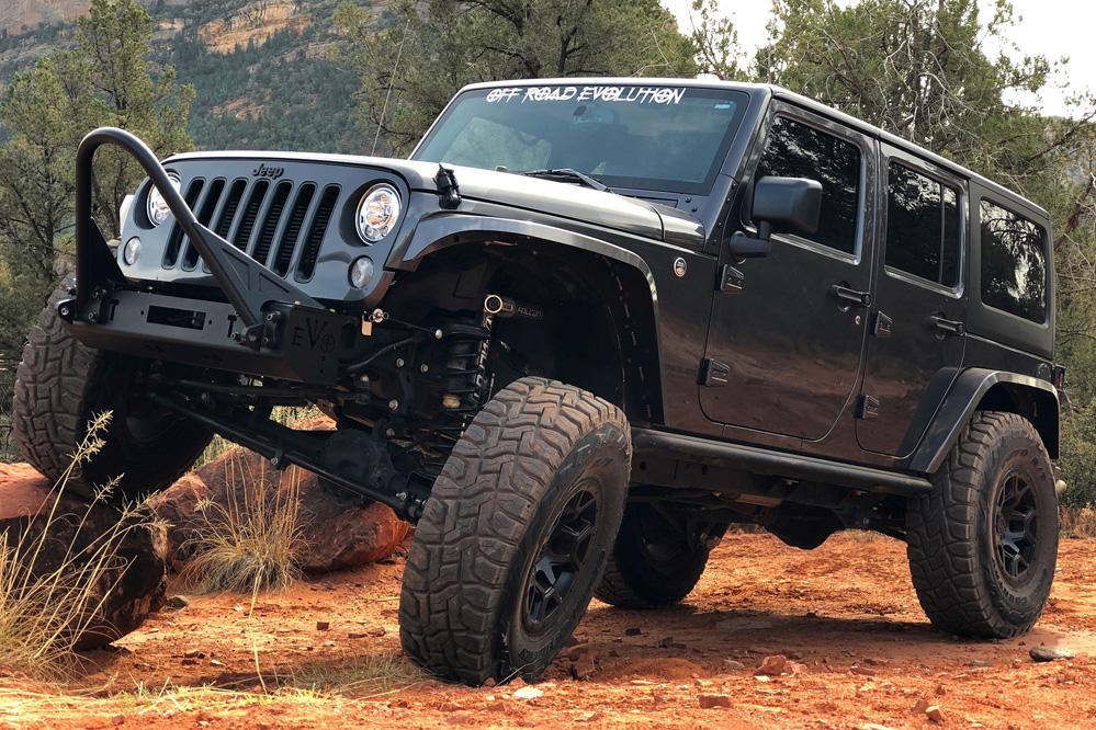 Jeep Wrangler with Black Rhino Overland