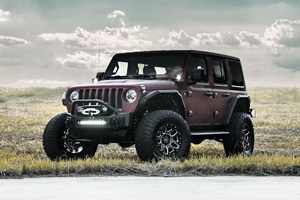 Jeep Wrangler with Black Rhino Shrapnel