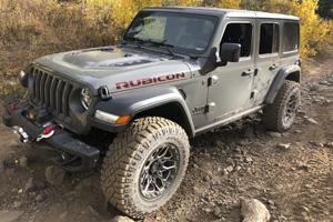 Jeep Wrangler with Black Rhino Shrapnel
