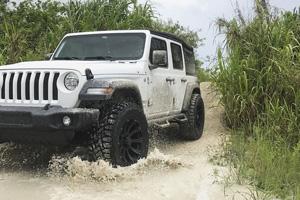 Jeep Wrangler with Black Rhino Sidewinder
