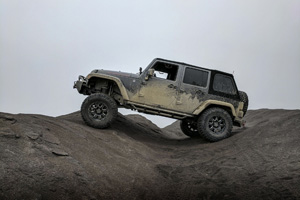 Jeep Wrangler with Black Rhino Sierra