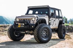Jeep Wrangler with Black Rhino Sprocket