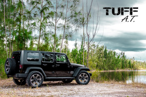 Jeep Wrangler with Tuff A.T. Wheels T-01