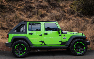 Jeep Wrangler with Tuff A.T. Wheels T-05