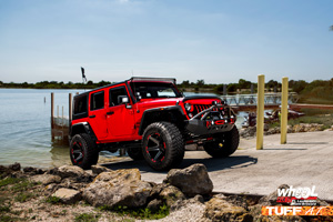 Jeep Wrangler with Tuff A.T. Wheels T-12