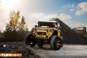 Jeep Wrangler with Tuff A.T. Wheels T12