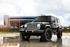Jeep Wrangler with Tuff A.T. Wheels T-15