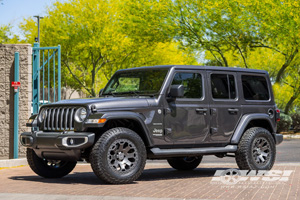 Jeep Wrangler with Black Rhino Warlord