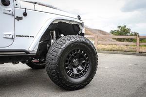 Jeep Wrangler with Black Rhino York