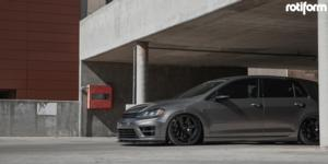KB1 on Volkswagen Golf R
