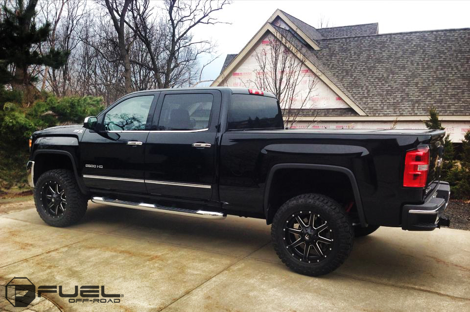 GMC Sierra 2500 Maverick - D538 Gallery - MHT Wheels Inc.