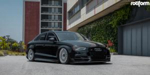 Audi S3 with Rotiform LHR-M