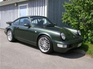 Porsche 911 with Victor Equipment LeMans