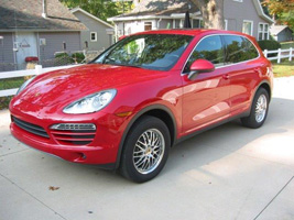 Porsche Cayenne with Victor Equipment LeMans