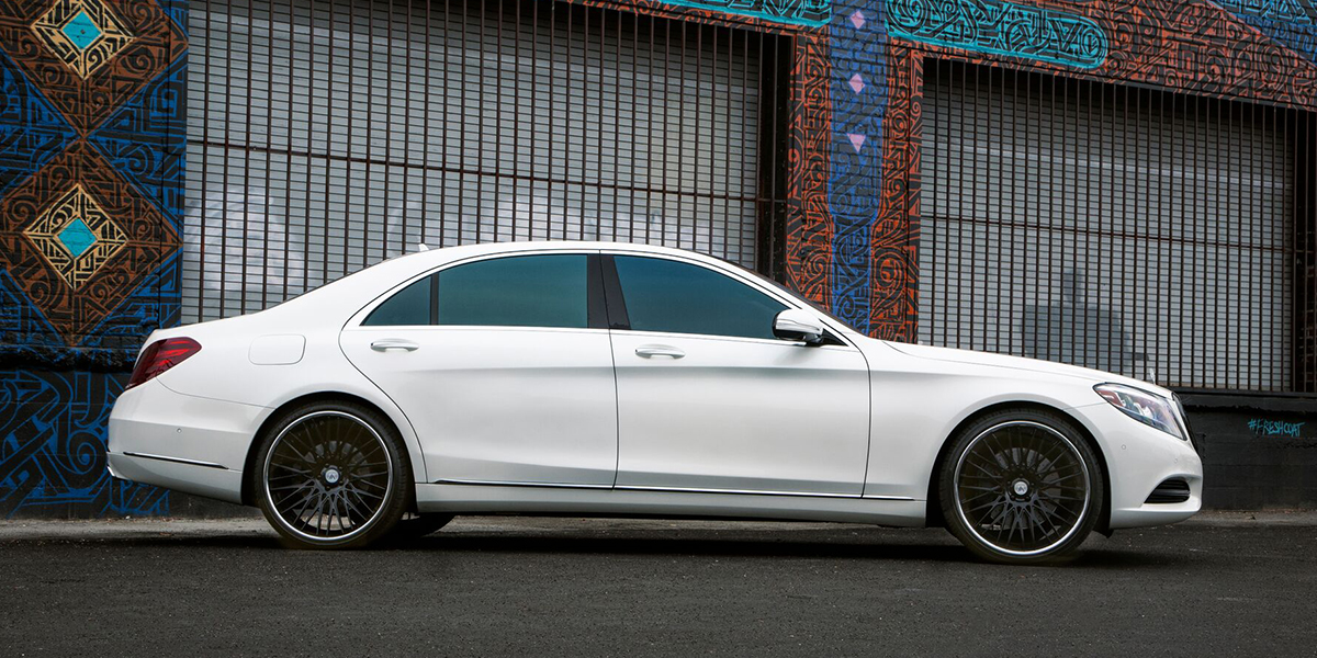 Mercedes-Benz S550 with Asanti Forged Wheels CX857