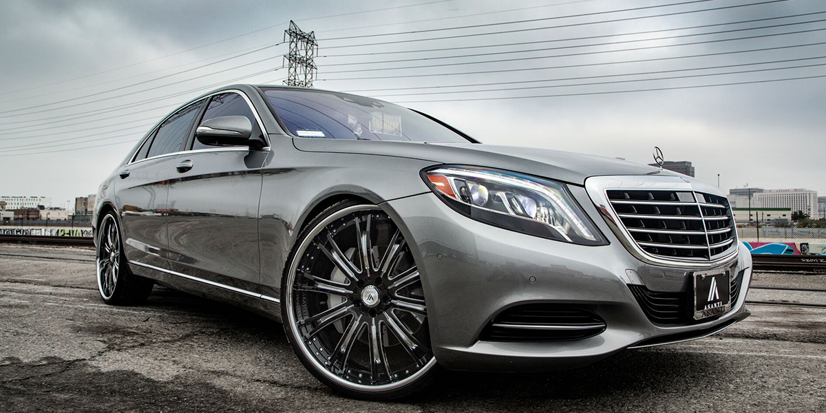 Mercedes-Benz S550 with Asanti Forged Wheels VF606