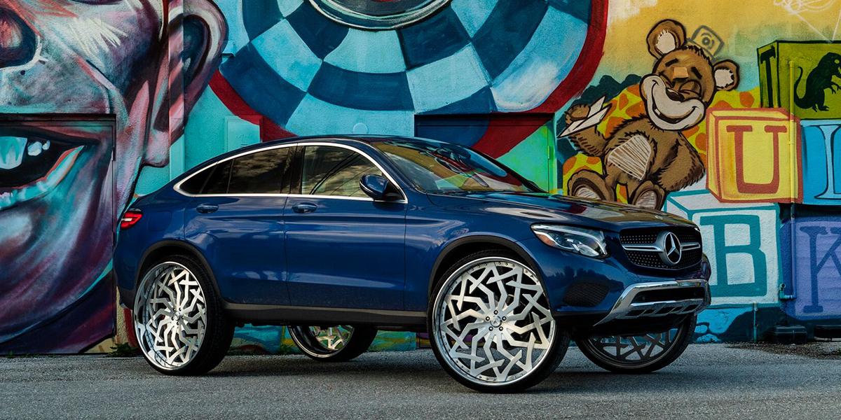 Mercedes-Benz GLC300 with Asanti Forged Wheels FS20
