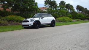 Mini Cooper Paceman with TSW Vale