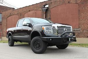Nissan Titan with Black Rhino Armory