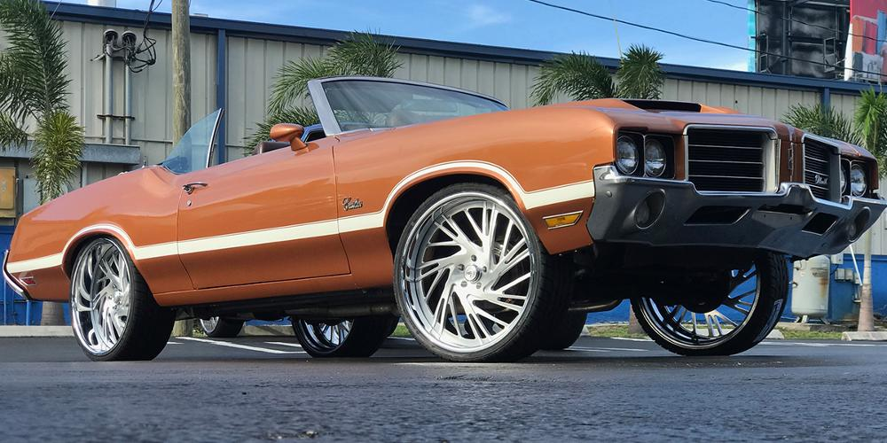 Oldsmobile Cutlass with A/F Series AF868