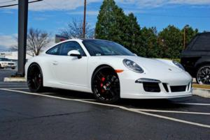 Porsche 911 with Victor Equipment Lohner