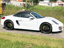 Porsche Boxster with Victor Equipment Zuffen