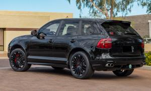 Porsche Cayenne with Victor Equipment Wurttemburg
