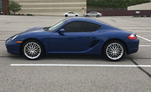 Porsche Cayman with Victor Equipment LeMans