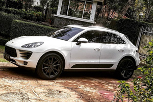 Porsche Macan with TSW Bathurst