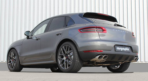 Porsche Macan with TSW Nurburgring