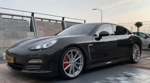 Porsche Panamera with TSW Bathurst