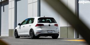 Volkswagen Golf R with Rotiform ZMO