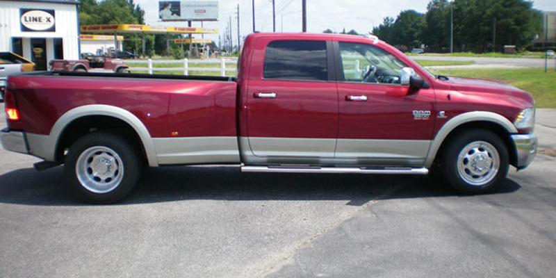 Dodge Ram 3500 Dual Rear wheel Vision HD/Trailer 181 Hauler Duallie