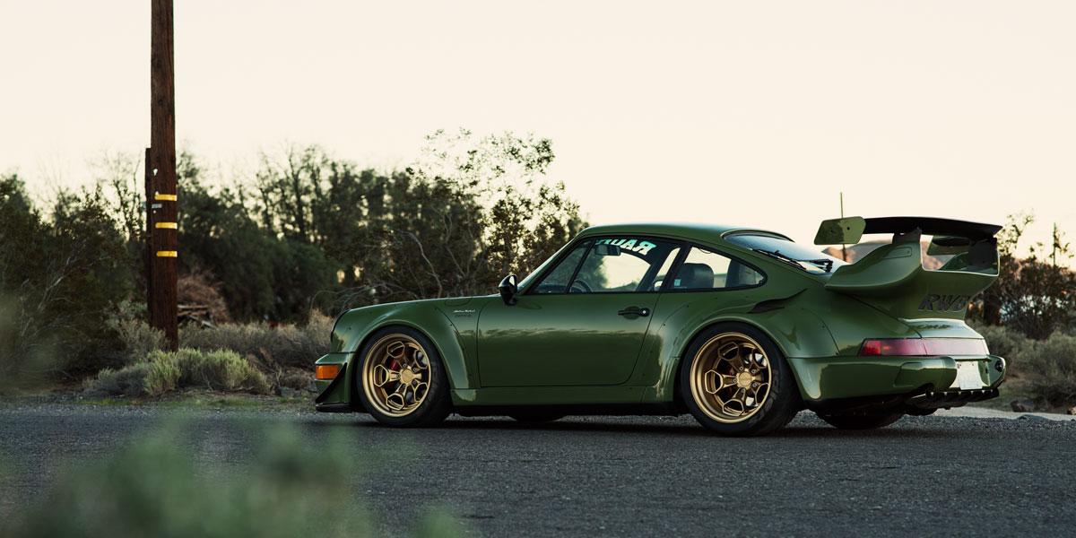 Porsche 911 Carrera Hur Gallery Rotiform Wheels