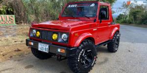 Suzuki Samurai with Fuel 1-Piece Wheels Reaction - D753